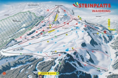 Skigebiet Steinplatte Waidring