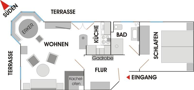Grundrissplan Unterfeldstraße